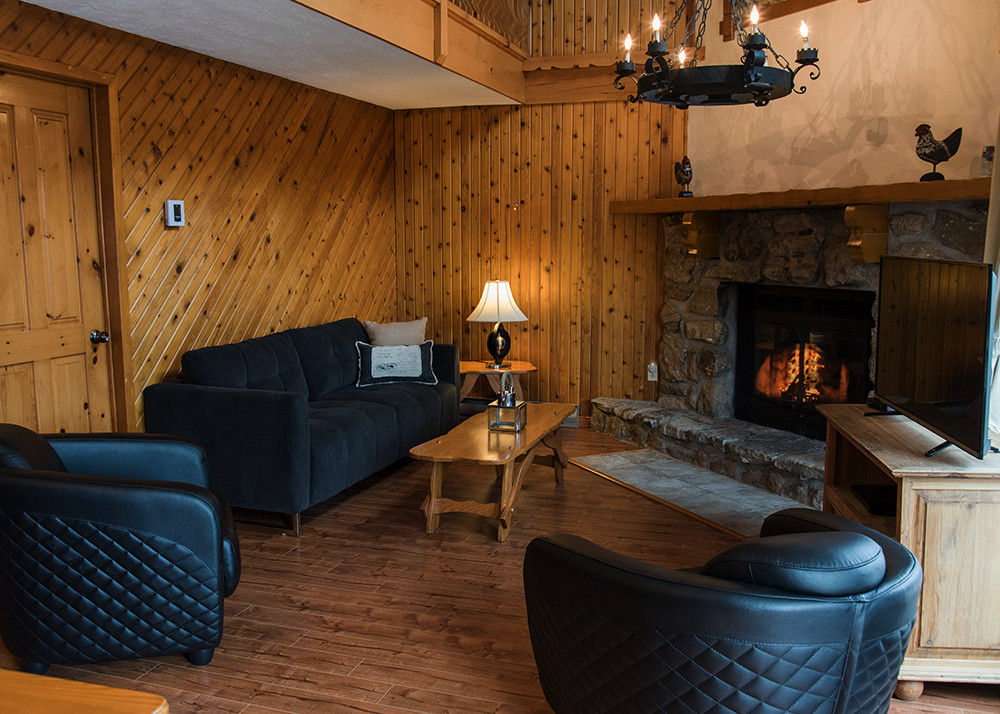 chalet rental laurentians deluxe 2 bedrooms