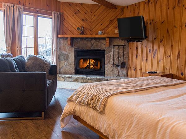 Cottage studio for rent Laurentians
